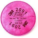 3M 2091 P100 Particulate Filter, 1 Pair Per Pack