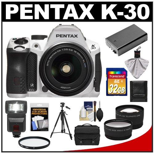 Pentax K-30 Weather Sealed Digital SLR Camera