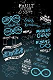 """The Fault In Our Stars (Typographic) Maxi Poster 24 x 36"""""""