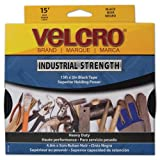 Velcro Industrial Strength Sticky-Back Hook and Loop Fasteners, 2 Inches x 15 Feet Roll, White (90198)