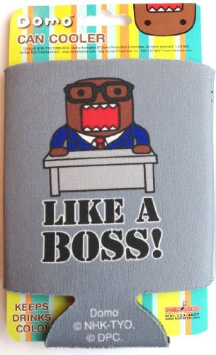 Domo-kun Can Cooler Like a Boss Koozie