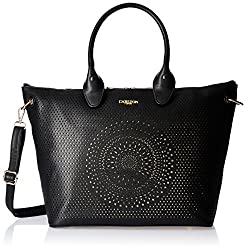 Carlton London Women's Handbag (Black) (CLLP-101)
