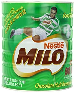 Nestle Milo Chocolate Beverage Mix Jumbo, 3.3 Pound Can