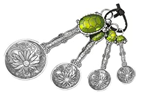 Ganz 4-Piece Measuring Spoons Set, Turtle by Ganz