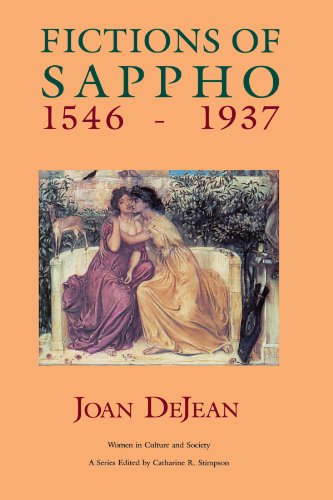 Fictions of Sappho, 1546-1937 (Women in Culture and Society)