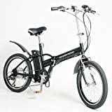 【raku-na】POWER ROAD 折りたたみ式 20インチ 電動アシスト自転車(PR-313)