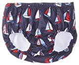 JoJo Maman Bebe Baby-Boys Newborn Swim Diaper, Boat, 3-6 Months