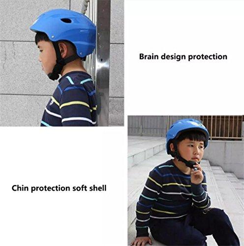 Rainbow flower Skating helmet adjustable size helmet cycling helmet skating helmet