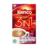 10 Individual Kenco Smooth 3in1 Coffee Sachets