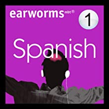 Rapid Spanish: Volume 1 Audiobook by Earworms Learning Narrated by Marlon Lodge