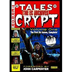 Picture of The EC Archives Tales from the Crypt Volume One [EC ARCHIVES TALES FROM THE  OS] (Hardcover) cover