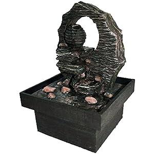 dekorativer zimmerbrunnen 39 kreta 39 deko brunnen f r innen luftbefeuchter k che. Black Bedroom Furniture Sets. Home Design Ideas
