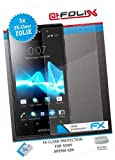 AtFoliX FX-Clear Crystal-Clear Screen Protectors for Sony Xperia ion Pack of 3 Top quality: Made in Germany.