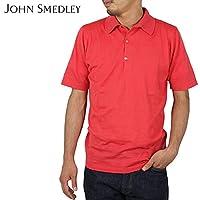 (ジョンスメドレー) John Smedley MILO コットンポロシャツ [FLAG RED]