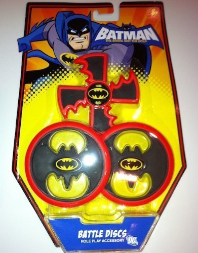 Batman The Brave and The Bold: Black Battle Discs Role Play Accessory