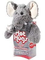 Aroma Home - Peluche Bouillotte micro onde - coussin amovible - Grand Modele - Elephant
