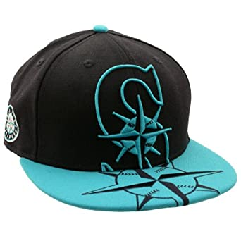 Seattle Mariners 59Fifty C2V Fitted Team Cap Hat by New Era