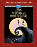 Tim Burtons The Nightmare Before Christmas - 20th Anniversary Edition (Blu-ray 3D/Blu-ray/DVD + Digital Copy)
