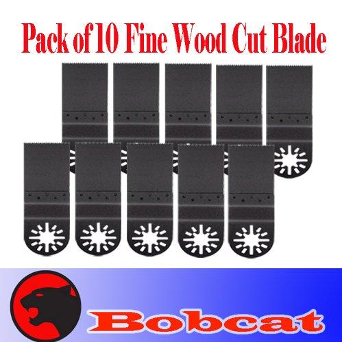 Pack Of 10 Combo Standard Fine Cut Oscillating Multi Tool Saw Blade For Fein Multimaster Bosch Multi-X Craftsman Nextec Dremel Multi-Max Ridgid Dremel Chicago Proformax Blades