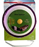 Super Pet Mouse Silent Spinner 4-1/2-Inch Mini Exercise Wheel, Colors Vary