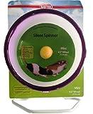 Kaytee Silent Spinner Mini Exercise Wheel, 4.5-Inch, Colors Vary