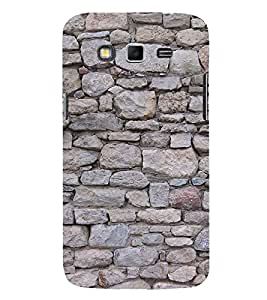 Rock Pattern Cute Fashion 3D Hard Polycarbonate Designer Back Case Cover for Samsung Galaxy Grand 2 :: Samsung Galaxy Grand 2 G7105 :: Samsung Galaxy Grand 2 G7102