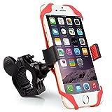 Bike Mount, Universal 360 Degree Rotation Bike Mount Handlebar Holder For IPhone 6/5s/5c/4s, Galaxy S6/S5/S4,...