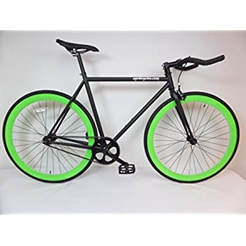 FIXIE Fixed Road Bike Flip-Flop BICYCLES WHEEL RIM TIRE Front /& Rear Neon Green
