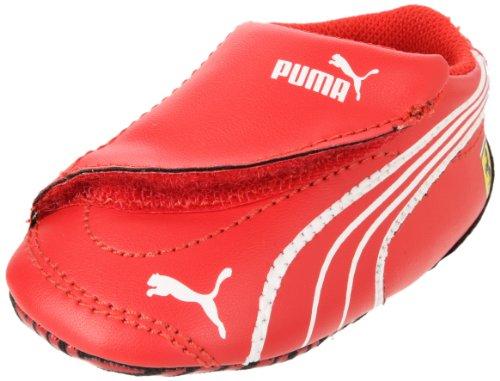 Puma Crib Pack Ferrari Fashion Sneaker (Infant/Toddler),Rosso Corsa/Rosso Corsa/White,4 M Us Toddler front-1004161