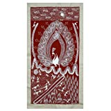 Folk Paintings Warli Art (Dhan ki Kheti) from India 60 x 32 Cmsby DakshCraft