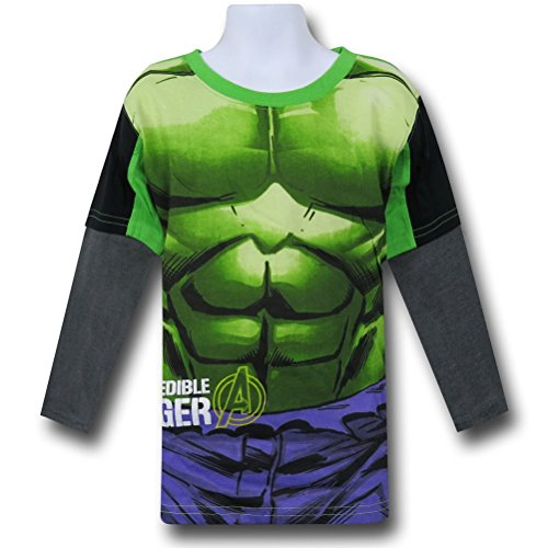 Hulk Kids Long Sleeve Costume T-Shirt