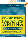 Construction Specifications Writing:...
