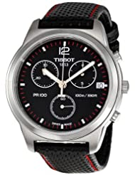 Tissot Quartz PR100 Quartz Chronograph Black Dial Men's Watch T049.417.16.057.00