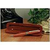 Genuine Rosewood Ballpoint Pen in Wood Gift Box