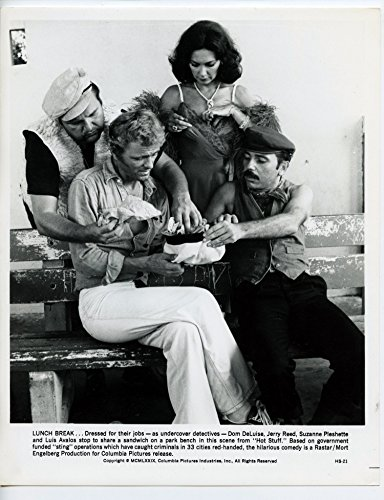Hot Stuff Dom DeLuise Jerry Reed Suzanne Pleshette Louis Avalos BW 8x10 Lobby Card (Dom Deluise Hot Stuff compare prices)