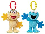 Munchkin Sesame Street Teether Babies Zoe or Cookie Monster - Assorted
