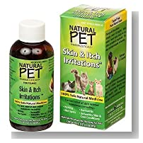 Natural Pet Skin+Itch Irritations For Cats 4 Ounces