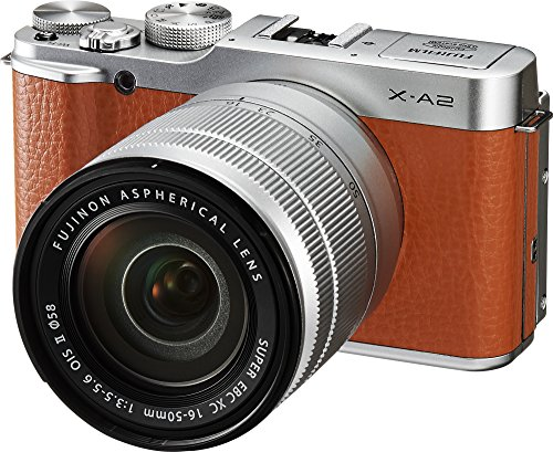 Fujifilm X-A2/XC16-50mmF3.5-5.6 II Brown Mirrorless Digital Camera with Lens Kit