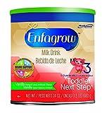Enfagrow Toddler Next Step Vanilla  Powder Can, for Toddlers 1 Year and Up, 24 Ounce Powder Formula (Packaging May Vary)