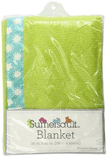 Sumersault Blanket, Monster Babies - 1