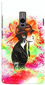 PrintVisa 3D-OP2-D7758 Girly Army Case Cover for OnePlus 2
