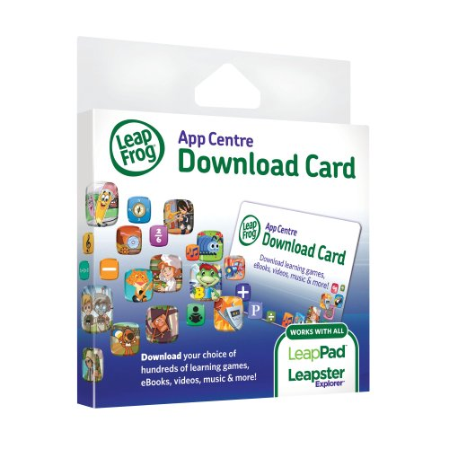 LeapFrog Explorer App Centre Download Card (for