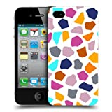 Head Case Giraffe Multi-coloured Animal Pattern Back Case For Apple iPhone 4 4S