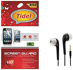 Tidel Ulta Clear Screen Guard for Samsung Galaxy J2 4G With 3.5mm Earphone