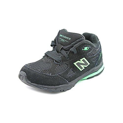New Balance Kj990 Running Shoe (Infant/Toddler),Black/Green,5 M Us Toddler front-1003816