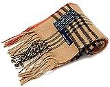 (ジーンズショップ マルカワ) Jeans shop MARUKAWA マフラー メンズ チェック アクリル タータンチェック ユニセックス 5color