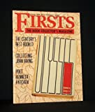 FIRSTS: THE BOOK COLLECTORS MAGAZINE: Vol 9, No 1, January (Jan) 1999 (Collecting John Irving [with Checklist], THE WORLD ACCORDING TO GARP, A Collectors Guide to Publishers: Algonquin Books of Chapel Hill, Great American Poets: Kenneth Patchen)