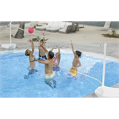 Dunnrite Stainless Steel WaterVolly Portable Swimming Pool Volleyball Set by Dunn Rite