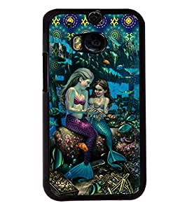 PrintVisa Metal Printed Girly Designer Back Case Cover for HTC One M8/ M8s-D4748
