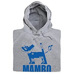 Official Mambo Surf Dog Hoodie, Mens